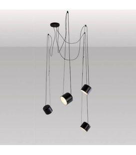 Pakabinamas šviestuvas PACO Black 26850/4TNM