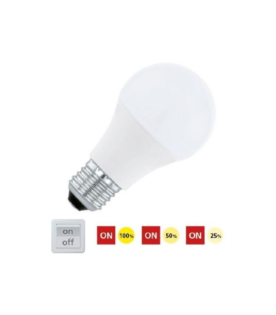 LED LEMPA 10W E27 DIMERIUOJAMA 11561