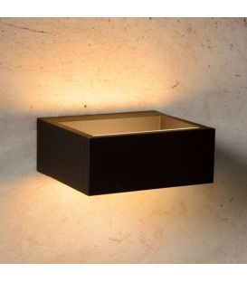 Sieninis šviestuvas GOA LED Black IP54