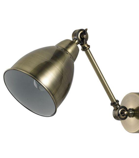 Sieninis šviestuvas NEWTON AP1 Brunito