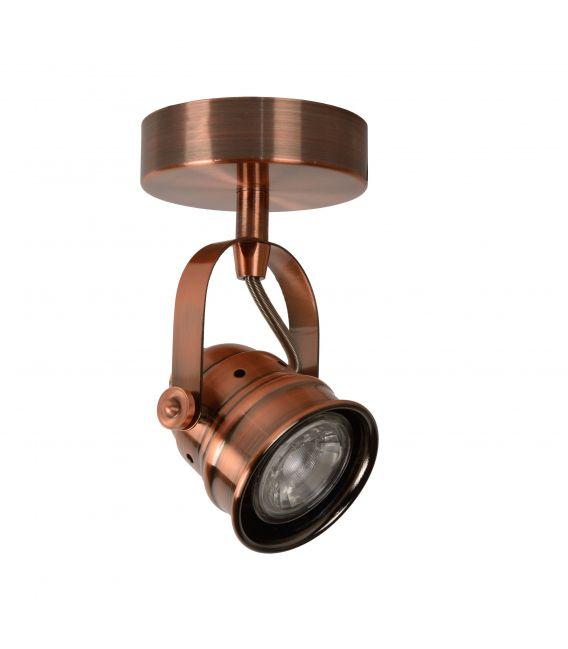 Lubinis šviestuvas CIGAL 1xGU Red Copper