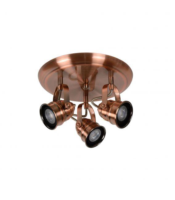 Lubinis šviestuvas CIGAL 3xGU Red Copper