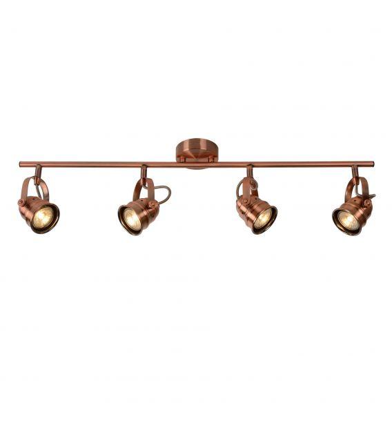 Lubinis šviestuvas CIGAL 4xGU Red Copper