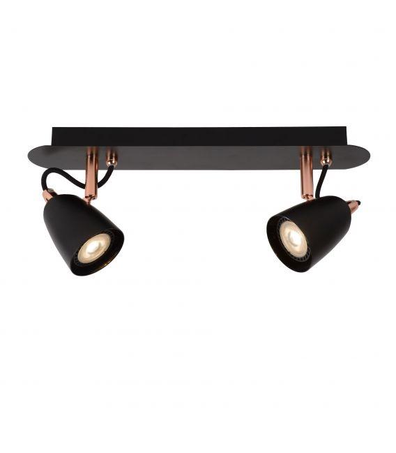 Lubinis šviestuvas RIDE-LED 2xGU Red Copper