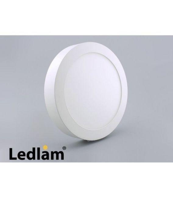Paviršinė LED šviesos panelė 12W [EPISTAR]