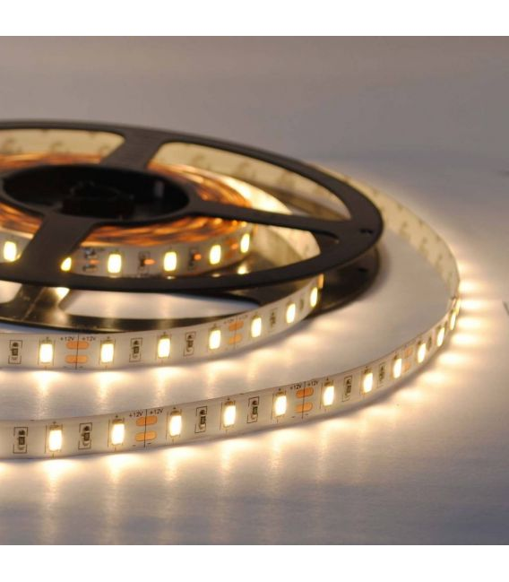 Lanksti LED juosta šilta balta 16W 12V IP67