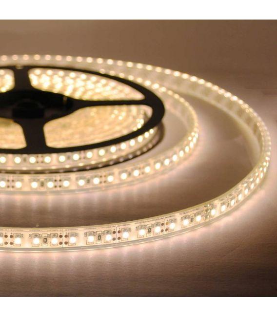 Lanksti LED juosta šilta balta 12W 12V IP67