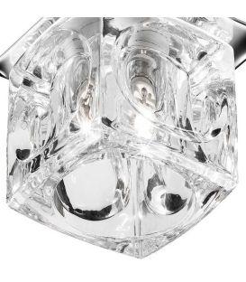 Įmontuojamas šviestuvas Clear Ice Cube Glass