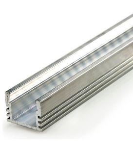 LED profilis PDS4-ALU paviršinis 2 metrai B1718ANODA2