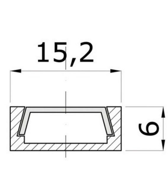 LED profilis MICRO-ALU