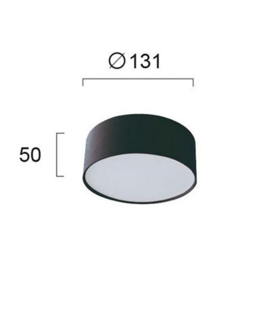 Lubinis šviestuvas JAXON Black Ø13,1