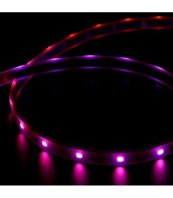 Lanksti LED juosta RGB 6W 12V IP67 hermetiška