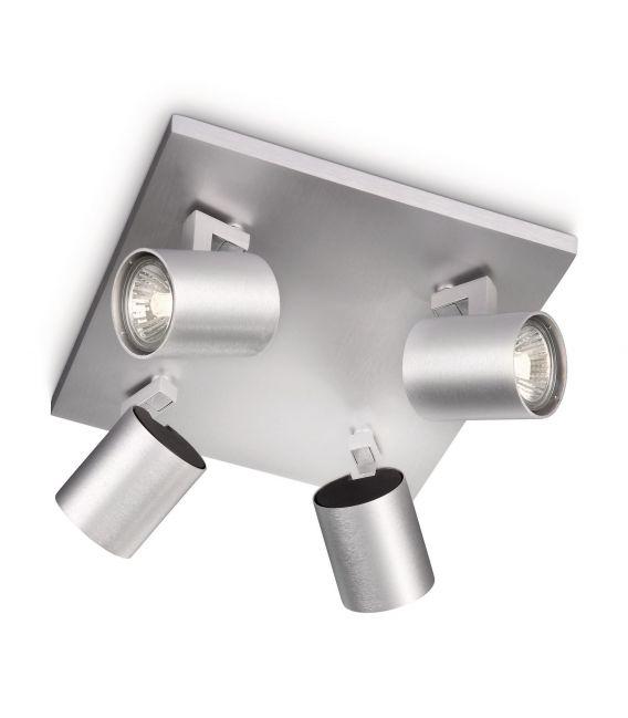 Lubinis šviestuvas RUNNER 4 Aluminium 53094/48/12