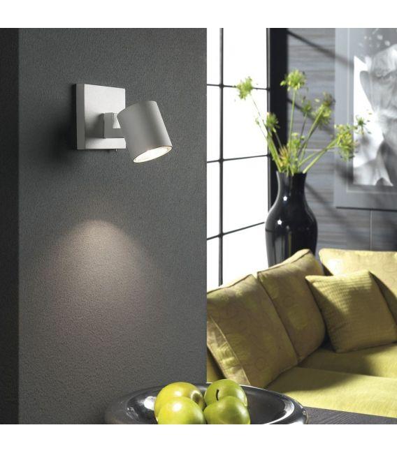 Sieninis šviestuvas RUNNER Aluminium 53090/48/12