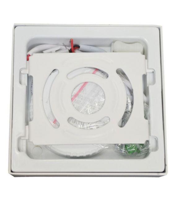 Paviršinė LED panelė 6W, kvadratinė