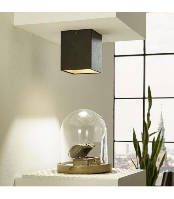 Lubinis šviestuvas POLASSO LED Black