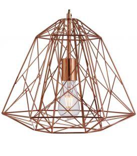 Pakabinamas šviestuvas GEOMETRIC CAGE Copper