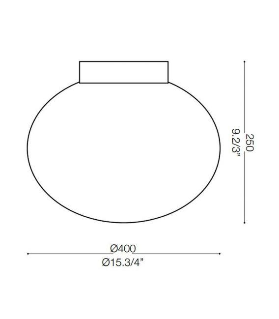 Lubinis šviestuvas CANDY PL1 Ø40cm