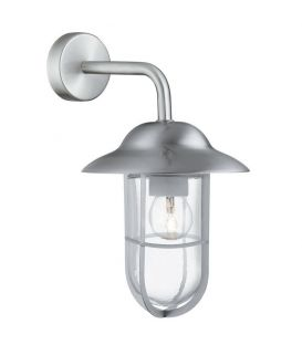 Sieninis šviestuvas WELL GLASS LANTERNS Grey IP44 3291SS