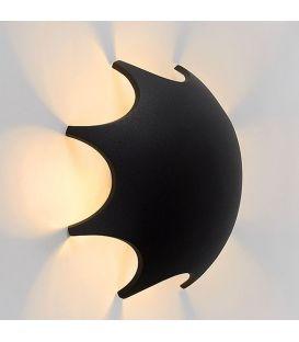 Sieninis šviestuvas CAPSUL LED Black