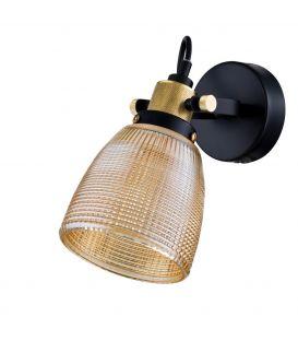 Sieninis šviestuvas TEMPO Amber T164-01-G
