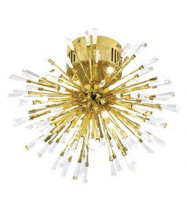 Lubinis šviestuvas VIVALDO 1 Ø48 Gold 39252