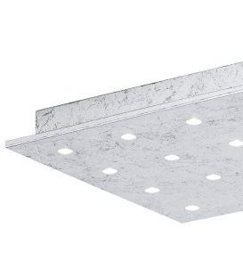 Lubinis šviestuvas VEZENO 1 LED 37x37 Silver