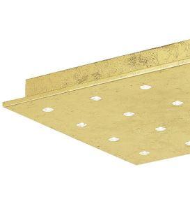 Lubinis šviestuvas VEZENO 1 LED 37x37 Gold
