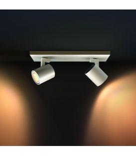 Lubinis šviestuvas RUNNER HUE LED 2 White + jungiklis