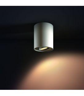 Lubinis šviestuvas PILLAR HUE White + jungiklis 871869615930