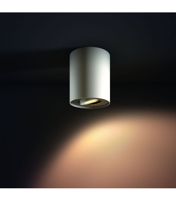 Lubinis šviestuvas PILLAR HUE White