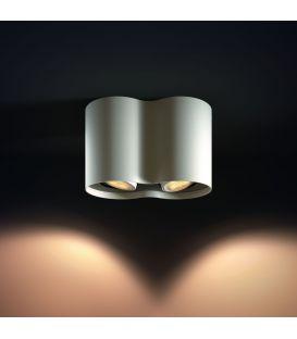 Lubinis šviestuvas PILLAR HUE 2 White + jungiklis 871869615928