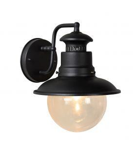 Sieninis šviestuvas FIGO Black IP44 11811/01/30