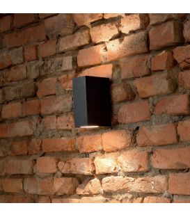 Sieninis šviestuvas UP AP2 Nero