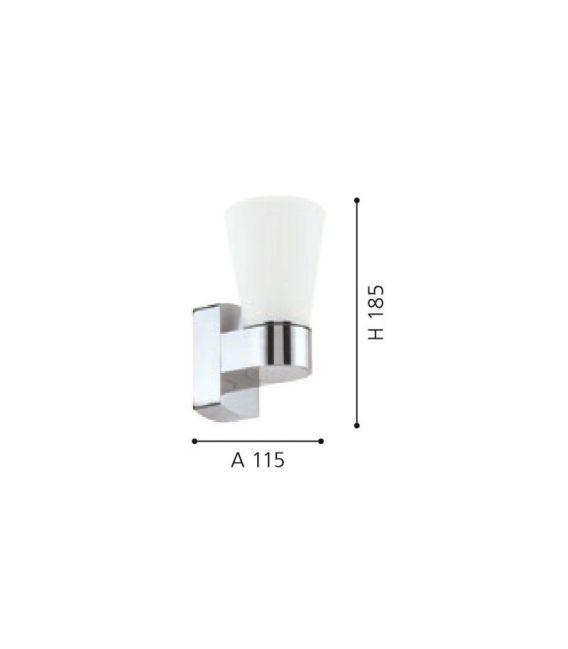 Sieninis šviestuvas CAILIN 2,5W