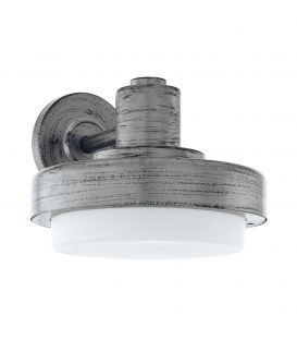 Sieninis šviestuvas TOLLERA Antique Silver