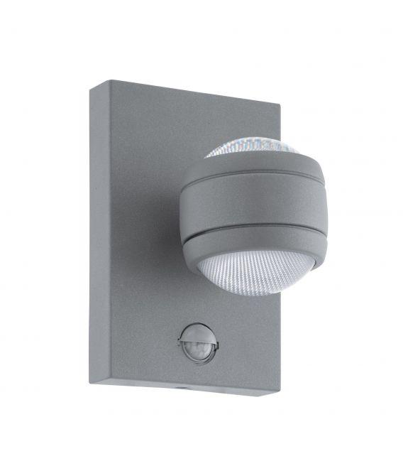 Sieninis šviestuvas SESIMBA 1 LED Silver