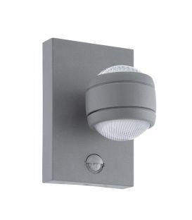 Sieninis šviestuvas SESIMBA 1 LED Silver IP44