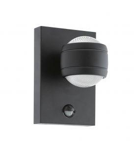 Sieninis šviestuvas SESIMBA 1 LED Black IP44