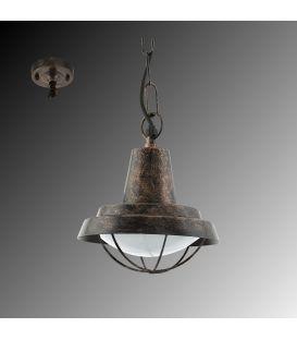 Pakabinamas šviestuvas COLINDRES Copper-antique IP44 94837