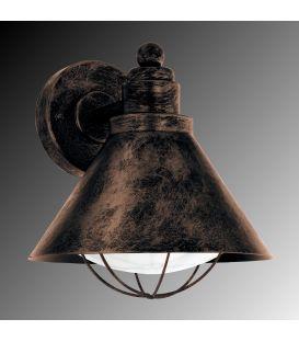 Sieninis šviestuvas BARROSELA Copper-antique
