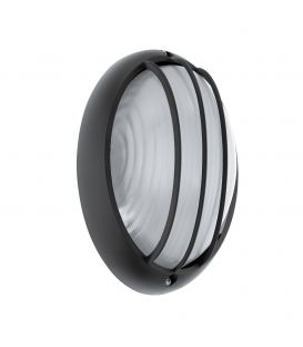 Sieninis šviestuvas SIONES 1 LED Black IP44