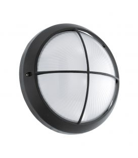 Sieninis šviestuvas SIONES 1 LED Ø26 Black IP44 96342