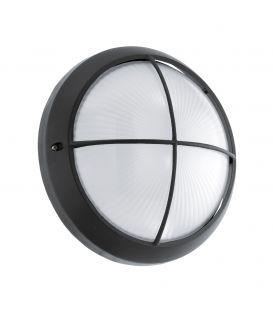Sieninis šviestuvas SIONES 1 LED Ø26 Black IP44