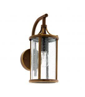 Sieninis šviestuvas APIMARE Dark bronze IP44