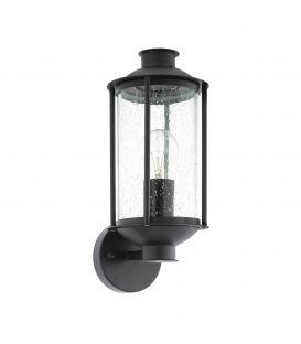 Sieninis šviestuvas MAMURRA Black IP44 96222