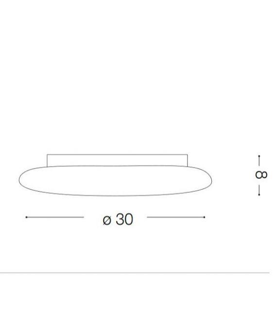 Sieninis šviestuvas POLO PL80