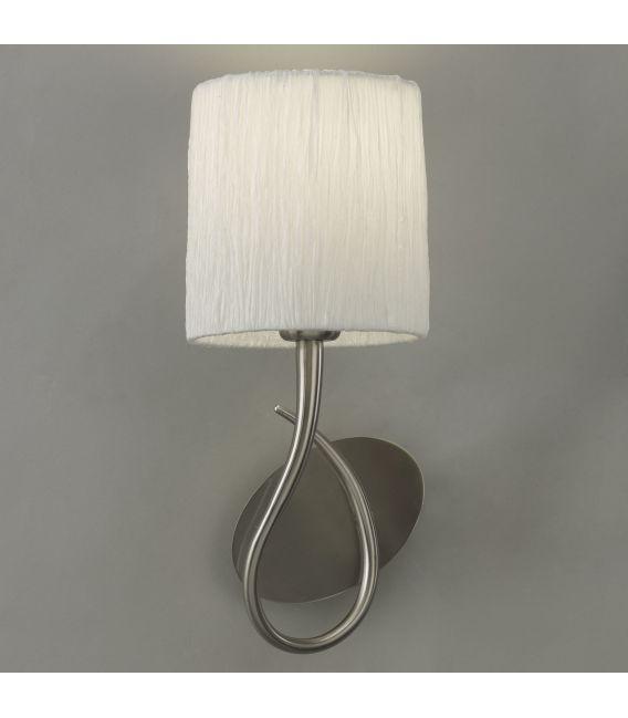 Sieninis šviestuvas LUA White
