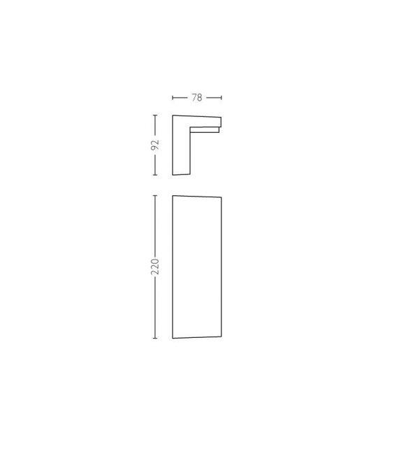 Sieninis šviestuvas BUSTAN 2700K IP44 16483/93/P0