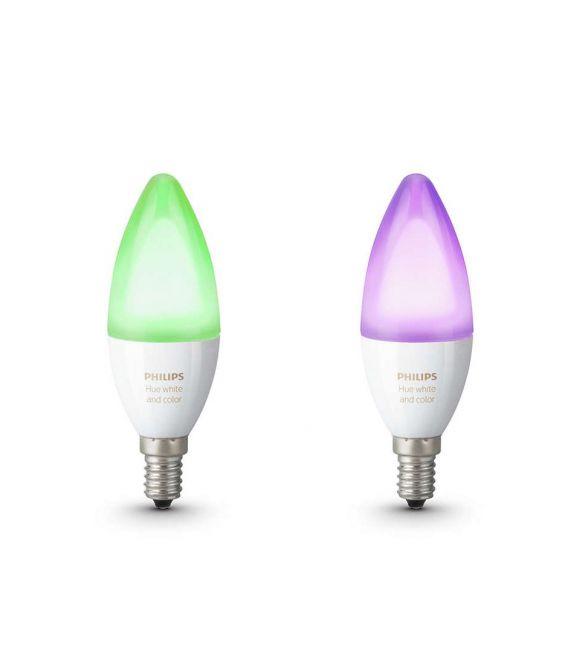 2 LED LEMPOS 6,5W E14 HUE 871869669524